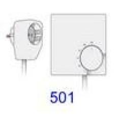 501  Fiche thermostat mural/Stekker wandtermostaat