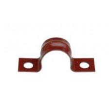 Attaches en acier - rouge laquée 16 mm