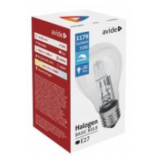 Avide Halogen Classic A 70W E27