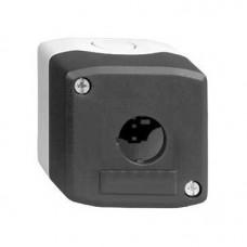 Boîte à boutons vide - XAL-D - plastique - 1 perçage