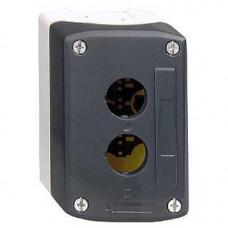 Boîte à boutons vide - XAL-D - plastique - 2 perçages horizo