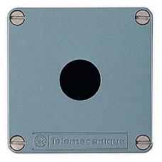 Boîte à boutons vide - XAP-M - métallique - 1 perçage Ø 22