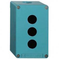 Boîte à boutons vide - XAP-M - métallique - 2 perçages horiz