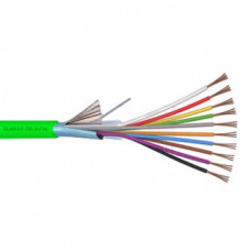CABLE 10X0,22 R100  LSZH  GREEN