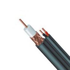 CABLE COAX RG 59 BU + 2X0.75 BOB/HASP 500M  LSOH