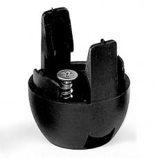 CAPUCHON DOUILLE E27 noir                    **VS*