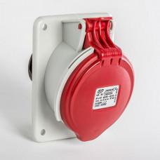 CEE IDE 16A 5p     400VAC IP44 prise encastrée inclinée