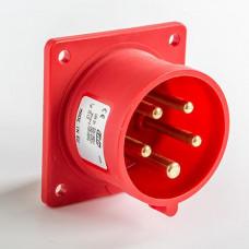 CEE IDE 16A 5p     400VAC IP44 socle de racc. enc. droit