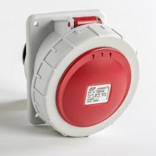 CEE IDE 32A 5p     400VAC IP67 prise encastrée inclinée