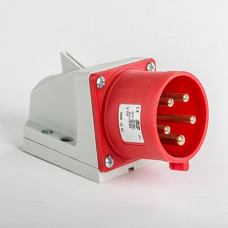 CEE IDE SOCLE MALE 32 A  IP44  3P+N+T    380V