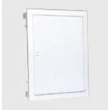 Coffret encastré F&G 28mod. Porte métallique plate   7702701
