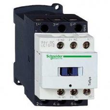 Contacteur 12A AC3 3 pôles 1 NO + 1 NC 24 VAC 50/60Hz TeSys