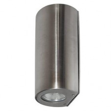 COZI180 LED APPLIQUE U&D 2x4W 420Lm 3000K IP44 INOX