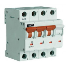 Disjoncteur F&G 3P+N 40A 4,5kA Courbe C   103813