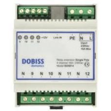 DOBISS Module d'extension unipolaire (4x 230V)  5014