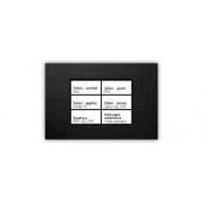 dobiss touchbutton avec cadre inox 12 bouton / fonctions