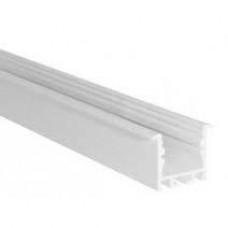 END CAP PLAT BLANC - PROFIL M-LINE STANDARD
