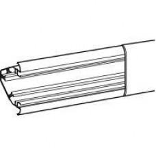 Goulotte DLP 3D 80 x 80 mm longueur 2 mètres - blanc