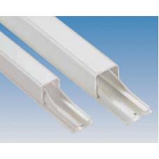 Guide-câbles DLP - long. 2,1 m 11 x 10,5 mm - blanc - adhési