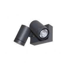 GUNZY 2S LED 2x8W 2x480Lm 3000K IP55 38° ANTHRACITE
