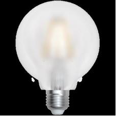 LED Filament Globe Opal E27 8W 3000K