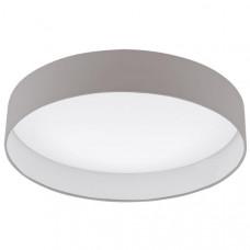 LED-PLAF. Ø500 TAUPE/WT 'PALOMARO'  Hoofdcatalogus 93952