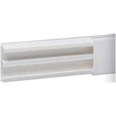 Moulure DLP sect. 32 x 12,5 mm blanc - 2,1 m - avec cloison