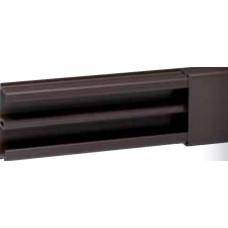 Moulure DLP sect. 32 x 12,5 mm marron - 2,1 m - avec cloison
