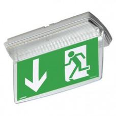 Panneau de signalisation , plexiglasplaat Step