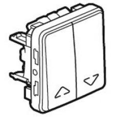 Plexo inter volets roulan 250v composable gris