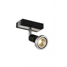 ROBUS spot 1xGU10 3W LED incl. zwart/chroom