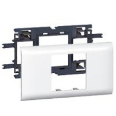 Support Mosaic DLP 2 modules couvercle 65mm