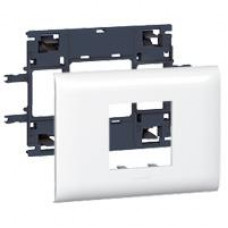 Support Mosaic DLP 2 modules couvercle 85mm