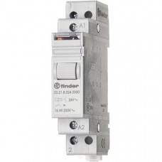 Télérupteur modulaire FINDER 230VAC 1NO 16A AgSnO2