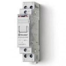 Télérupteur modulaire FINDER 230VAC 2NO 16A  AgSnO2