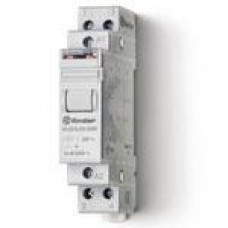 Télérupteur modulaire FINDER 24VAC 2NO 16A  AgSnO2
