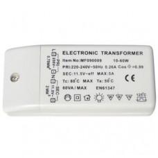 TRANSFORMER 12V 60 W 230-240VAC 20-60VA DIM L/TR.E